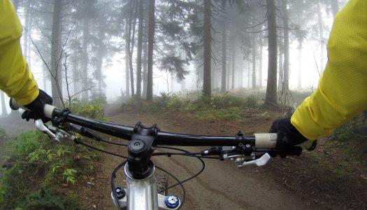 Kort over mountainbike spor & ruter i Danmark